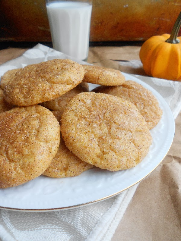 Pumpkin Snickerdoodles - Confessions of a Confectionista