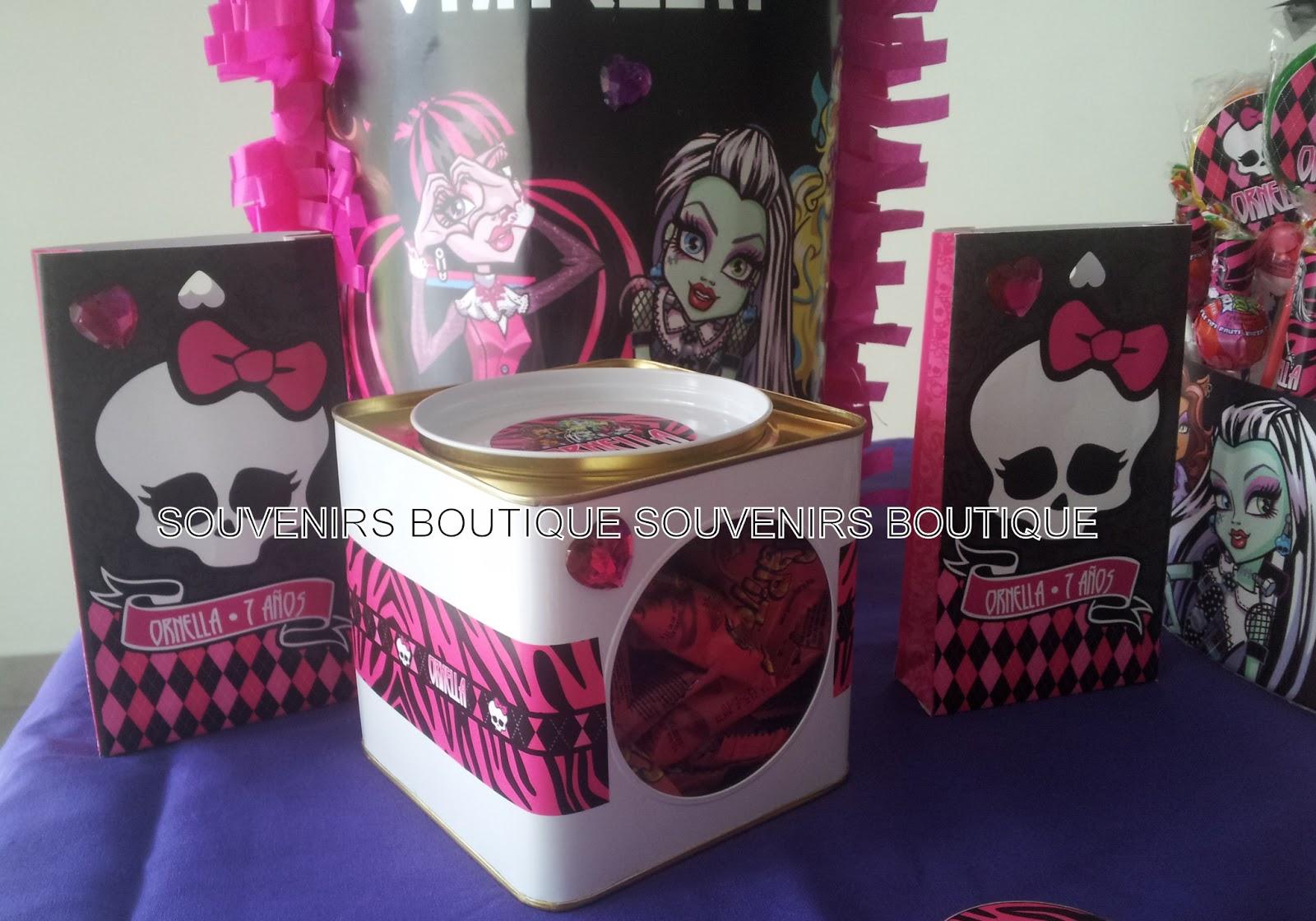 Souvenirs Boutique: Monster High para Ornella!!