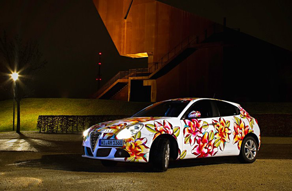 Avis Art Car by Artist Dea Vectorink - Art Car Central