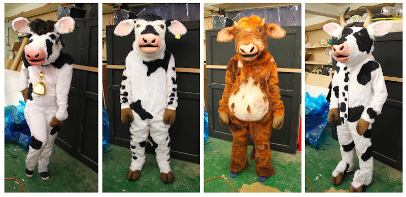 Female Cow, New Cow, Old Cow and Keen Cow. title=
