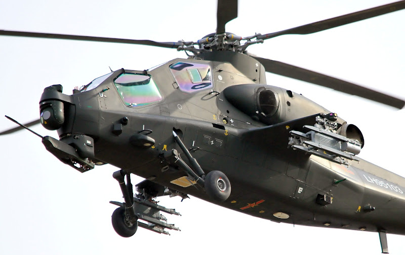Z-10 Chinese attack helicopter