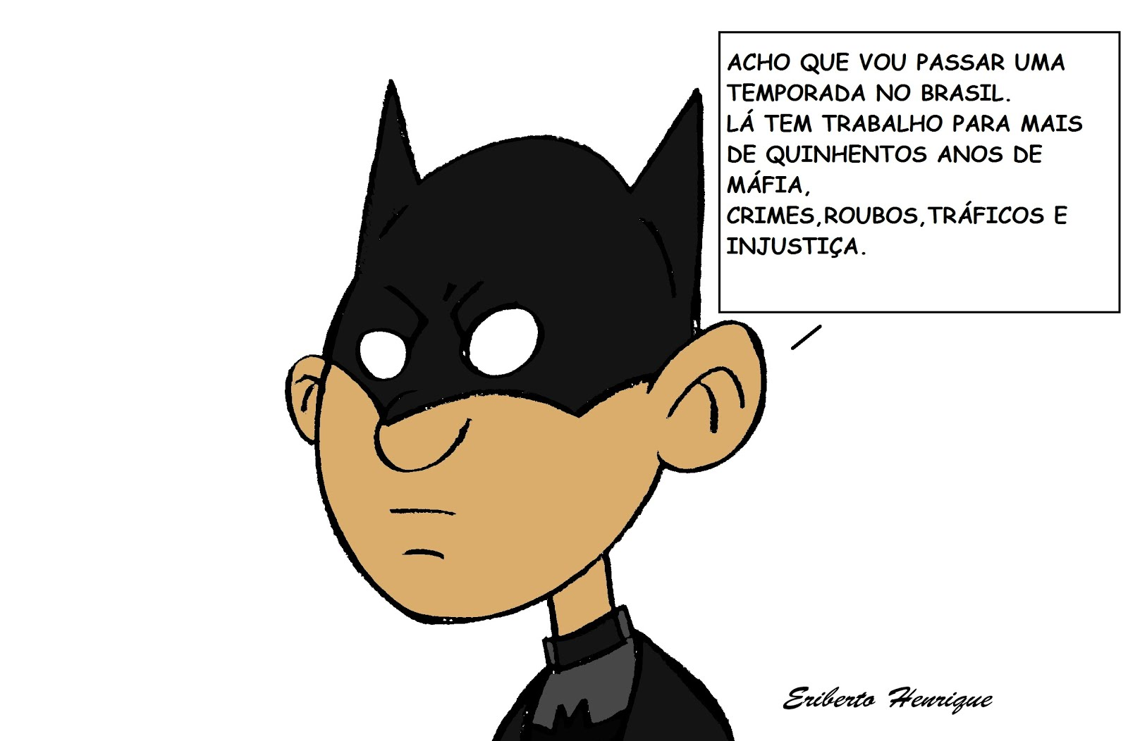 BATMAN VERSÃO EHS