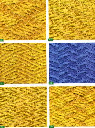 Вязание слип-узоров