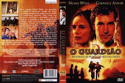 O Guardião 2 O Retorno as Minas do Rei Salomão DVD Capa