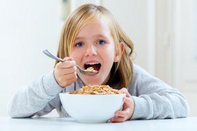 Anak yang mempunyai selera makan yang baik