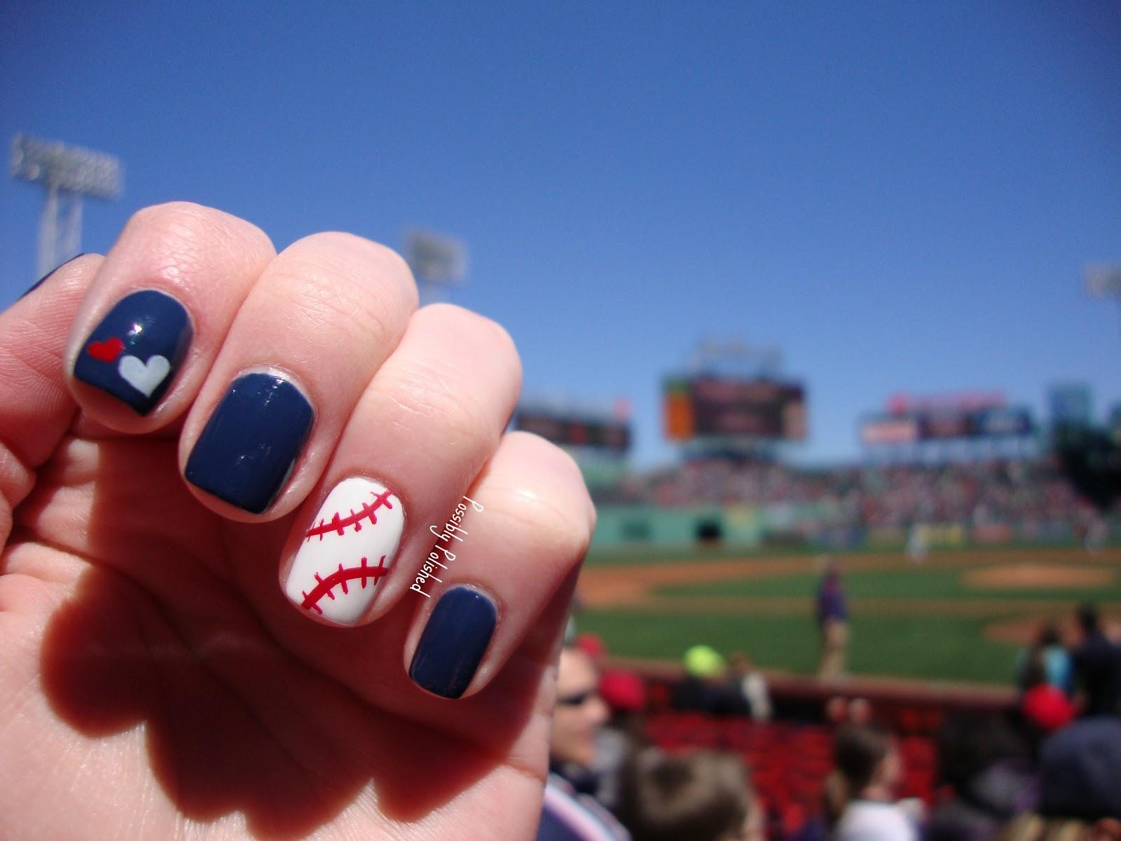 Exelent Baseball Nails Inspiration - Nail Art Ideas - morihati.com