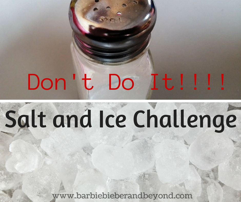 Salt and Ice Challenge