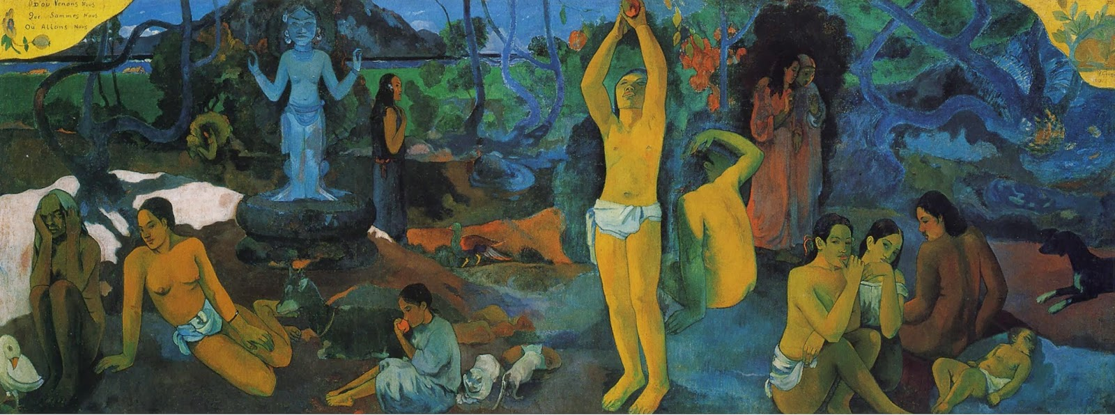 Paul Gauguin: Where do we come from? What Are We? Where Are We Going? 1897.