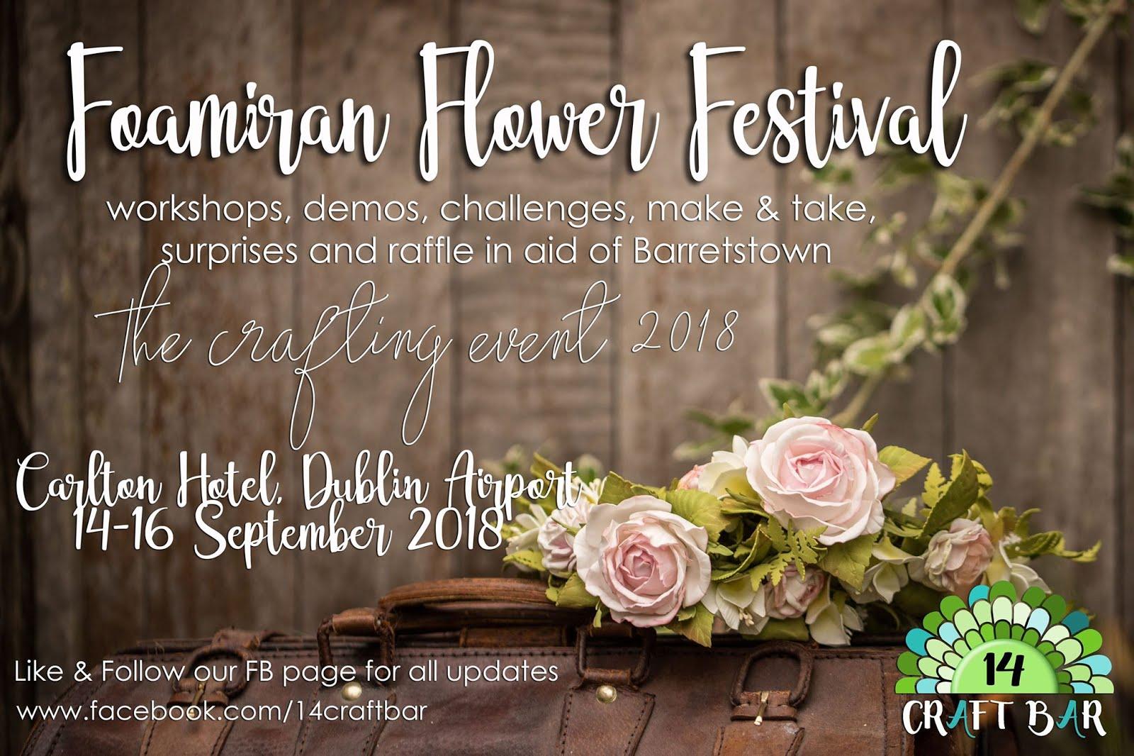 Foamiran Flower Festival