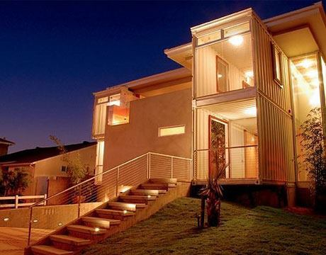 Guess what these beautiful houses are made with cargo containers pakistan passion - Beautiful shipping container homes ...