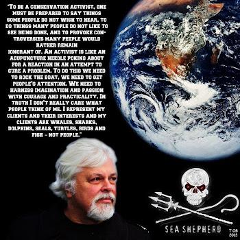 Capitán PAUL WATSON- Sea Shepherd