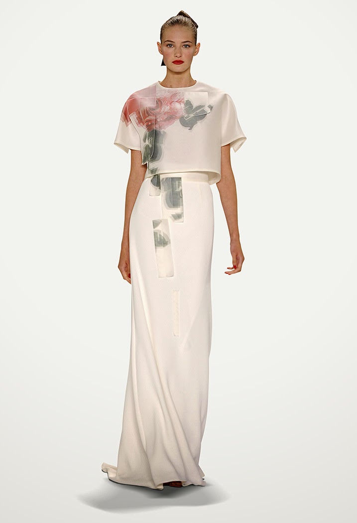 Fashion Runway | Carolina Herrera Ready To Wear Spring Summer 2015 New York