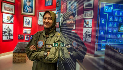 Ayesha, Pilot Tempur Wanita Pertama Pakistan