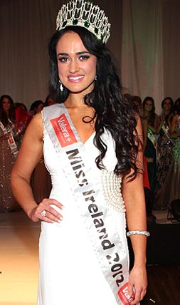 Miss Ireland 2012 winner Marie Hughes
