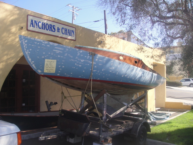 Pictured is a 20' Viking sailboat built by master boat builder, Don Pedersen ...