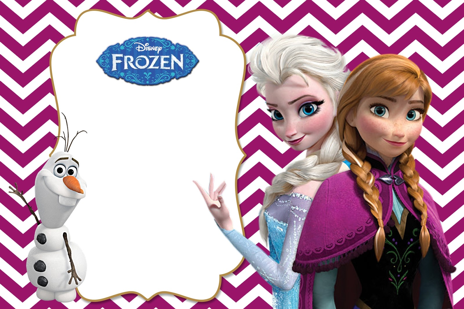 Printable Frozen Birthday Invitations for good invitations design