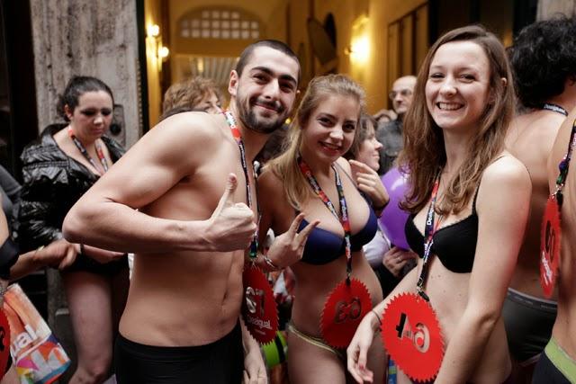 Desigual, Seminaked, Party, Roma, 4 Gennaio