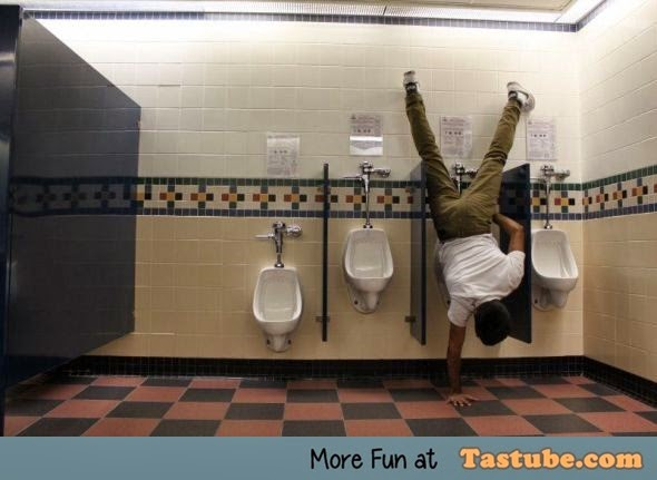 How to take a piss in style