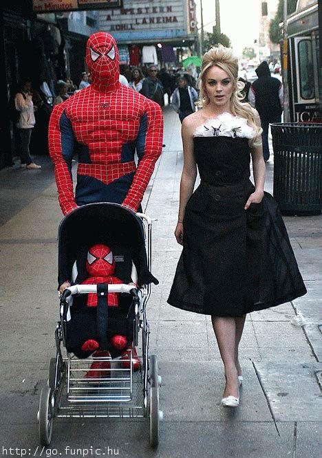 Gambar Spiderman Lucu Terbaru 2012