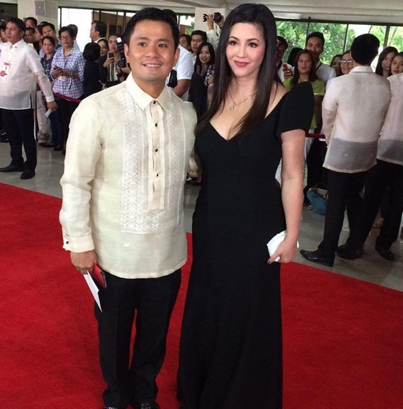 Ogie Alcasid and Regine Velasquez SONA 2015