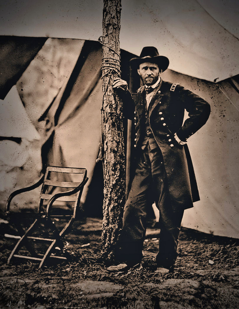 alex waterhouse hayward general ulysses s grant photographed by mathew brady at city point virginia 1864