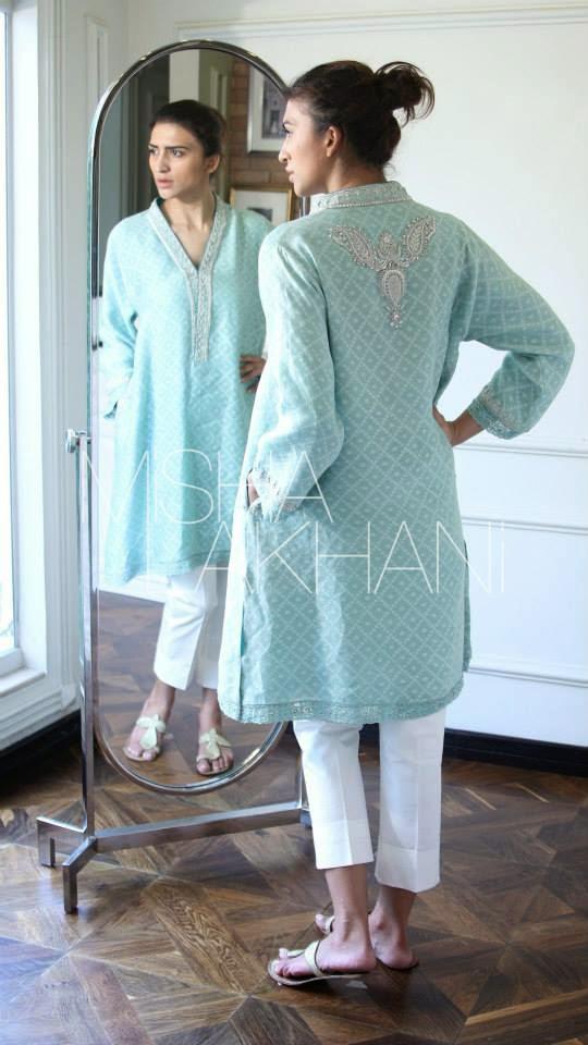 Misha Lakhani Evening Dress Collection 2015