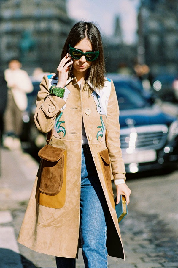 Vanessa Jackman: Paris Fashion Week AW 2014.Natasha