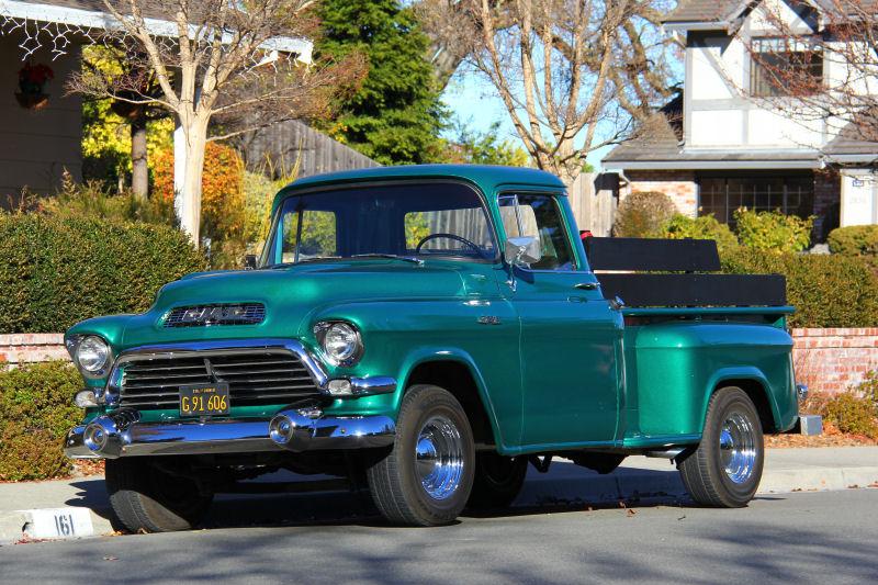 San Ramon Street Sighting 1957 Gmc 100on 1955 1957 Chevy Pickup Trucks