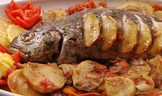 6  كيفية عمل السمك المشوى مع البطاطس