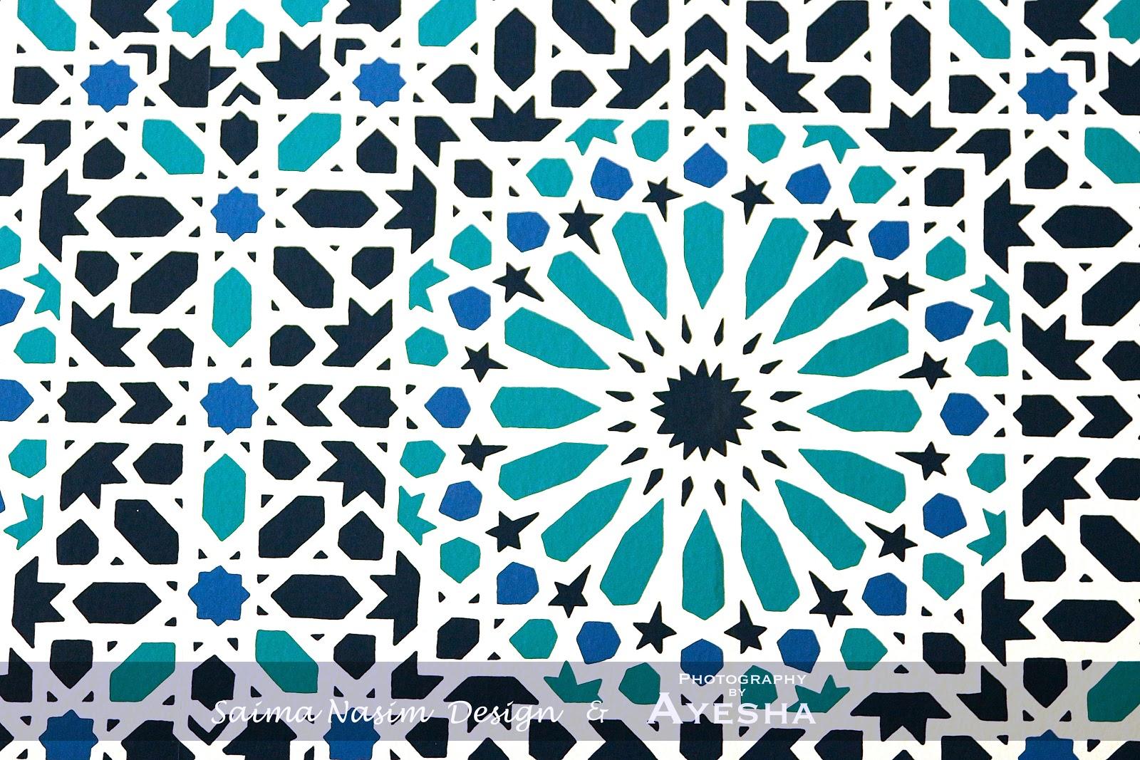 Islamic Design Border Include islamic design