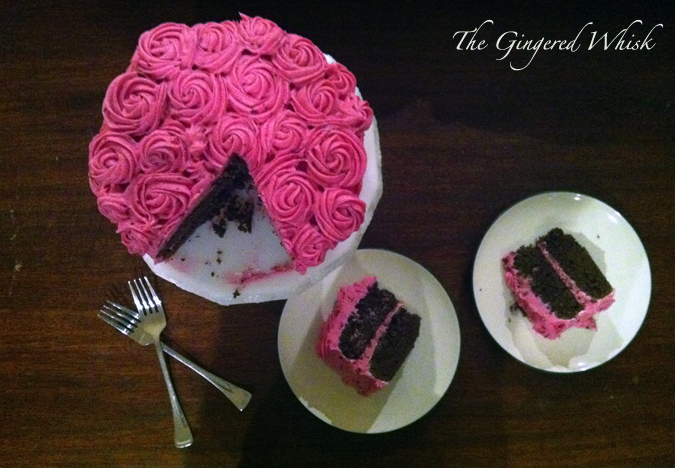 ... Gingered Whisk: Chocolate Beet Cake with Beety Cream Cheese Frosting