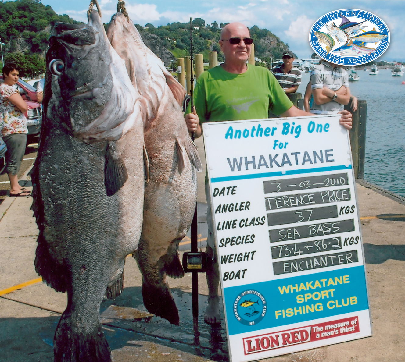 Big fishes of the world gropuer wreckfish polyprion for Best fishing in the world