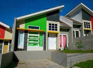 dijual rumah minimalis di perumahan cluster balikpapan