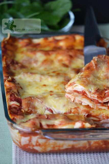 classic cheese lasagne Martha Stewart