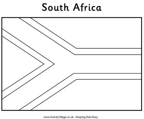 Adoptieavontuur van eena muziek in het afrikaans de for Africa flag coloring page