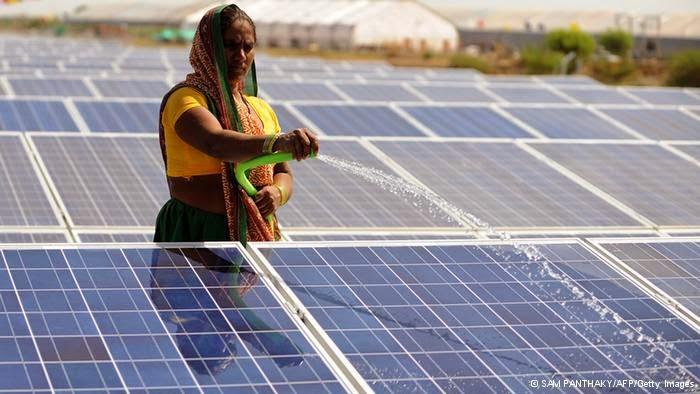 La Gran Planta Solar de l'Índia