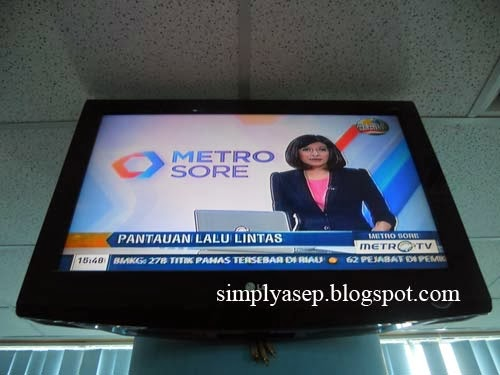 siaran program Metro TV