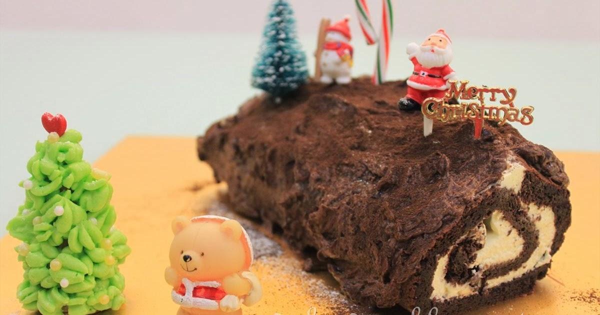 ... Christmas Chocolate Yule Log (Bûche de Noël) + Merry Christmas 2013