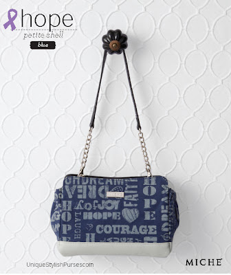 Hope Blue Shell for Petite Bags