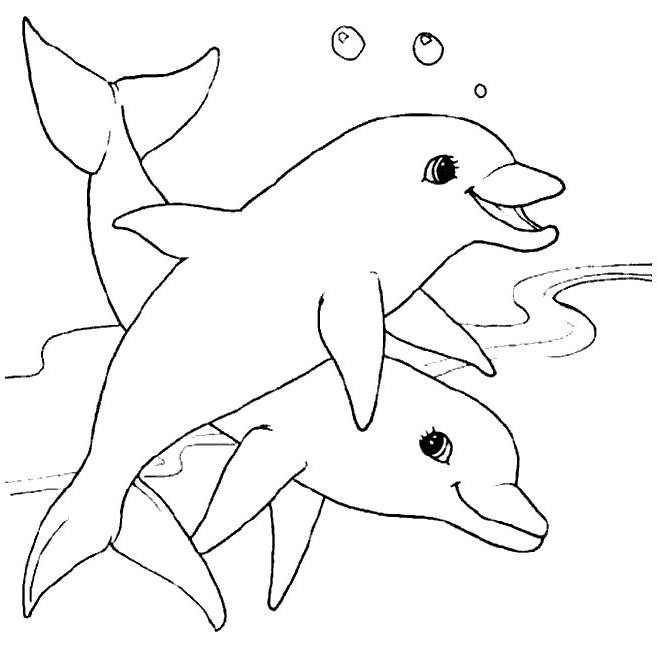 Disney Coloring Pages For 3 Year Olds : Art san�lia golfinhos
