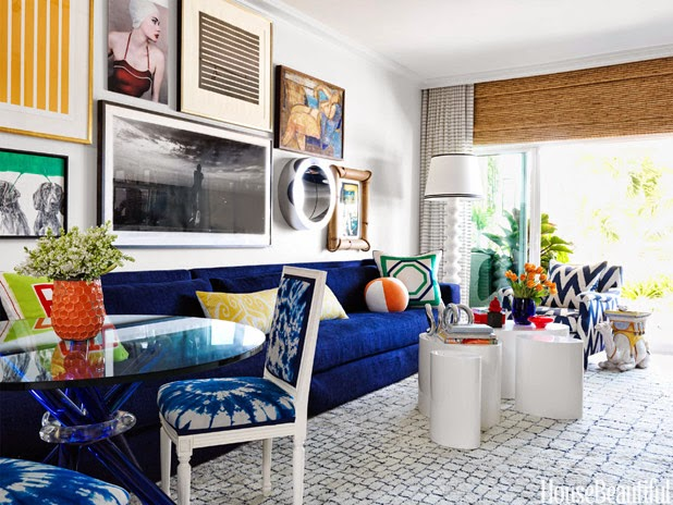 Bright Bold Colorful Miami apartment