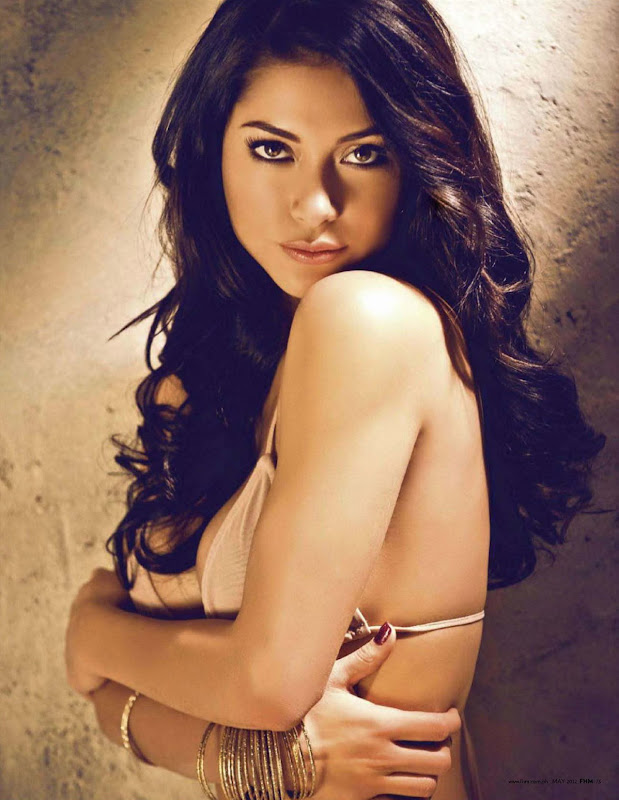 Arianny Celeste poses in May 2012 FHM Magzine, Philippines Issue