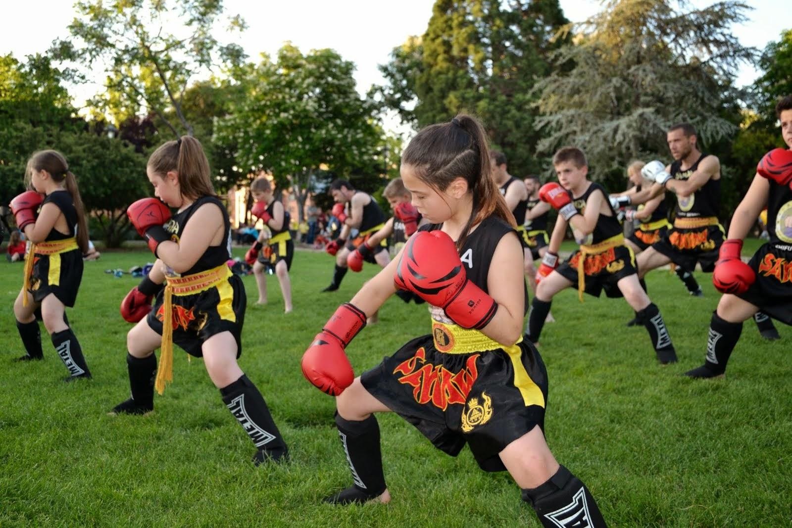 boxe chines Infantil - mestre senna