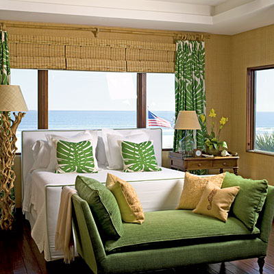 The glam pad 50 gorgeous green and white bedrooms - St patrick s church palm beach gardens ...