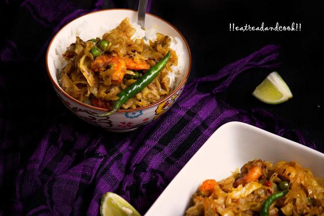 chingri maach diye bandhakopir ghonto recipe bengali style