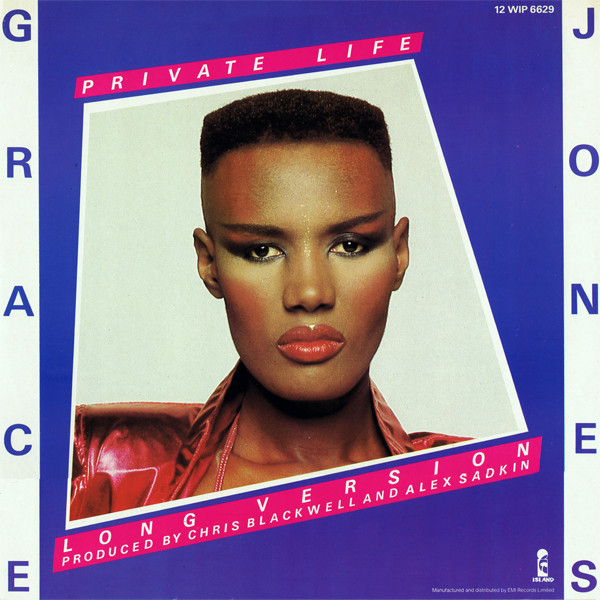 Grace Jones ''BUZZGENIUS''