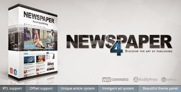 Newspaper Responsive WordPress News/Magazine