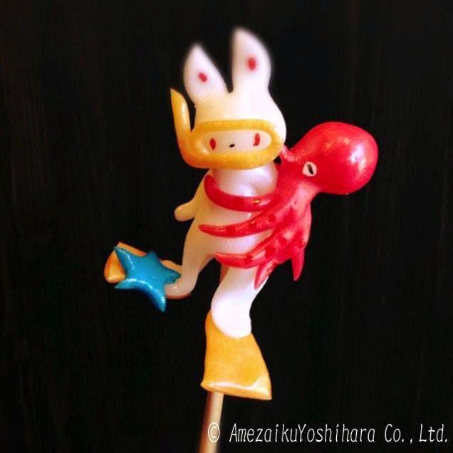 """الفن الياباني التقليدي للنحت على الحلوى""""Amezaiku"""" Runp8q4xhgm4ioi0qkze"""