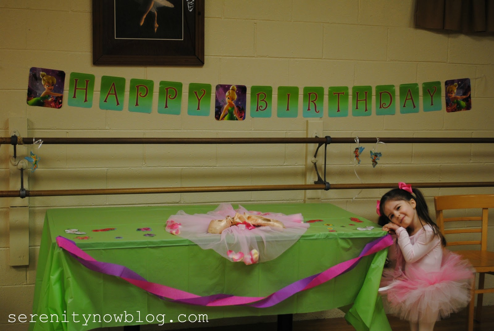 Serenity Now Tinkerbell Ballet Birthday Party On A Budget
