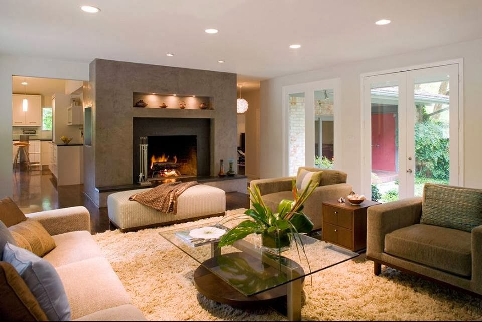 Decorate Your Home With Warm Colors In Winter